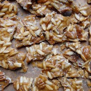 Spicy Pumpkin Seed-Pecan Brittle Recipe