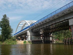 Photo: kolejowy na CMK wciąż remontowany