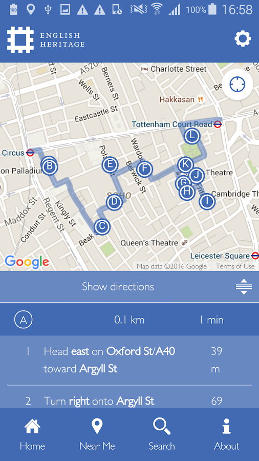 Blue Plaques of London- screenshot