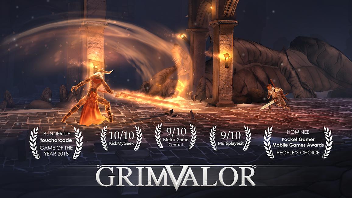 Grimvalor Gift Code Phiên bản đầy đủ đã được mở khóa 1.2.1 1