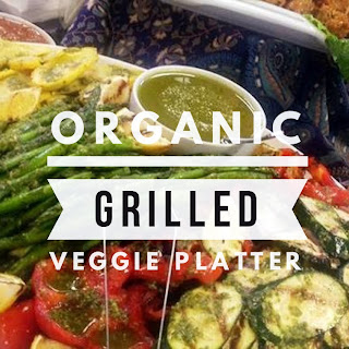 Organic Grilled Veggie Platter