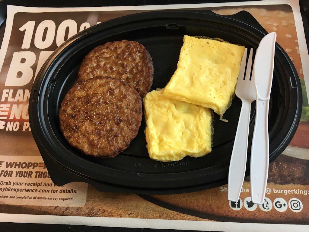 Keto Fast Food Burger King