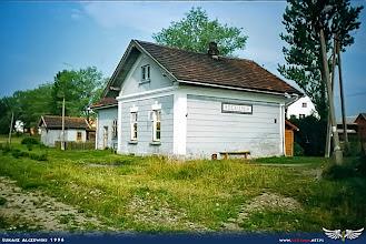 Photo: Stacja kolejowa w Rogoźniku.