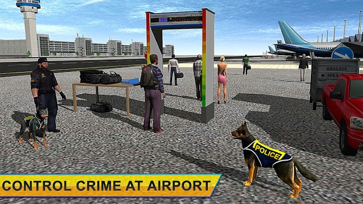 Airport Police Dog Criminals - screenshot