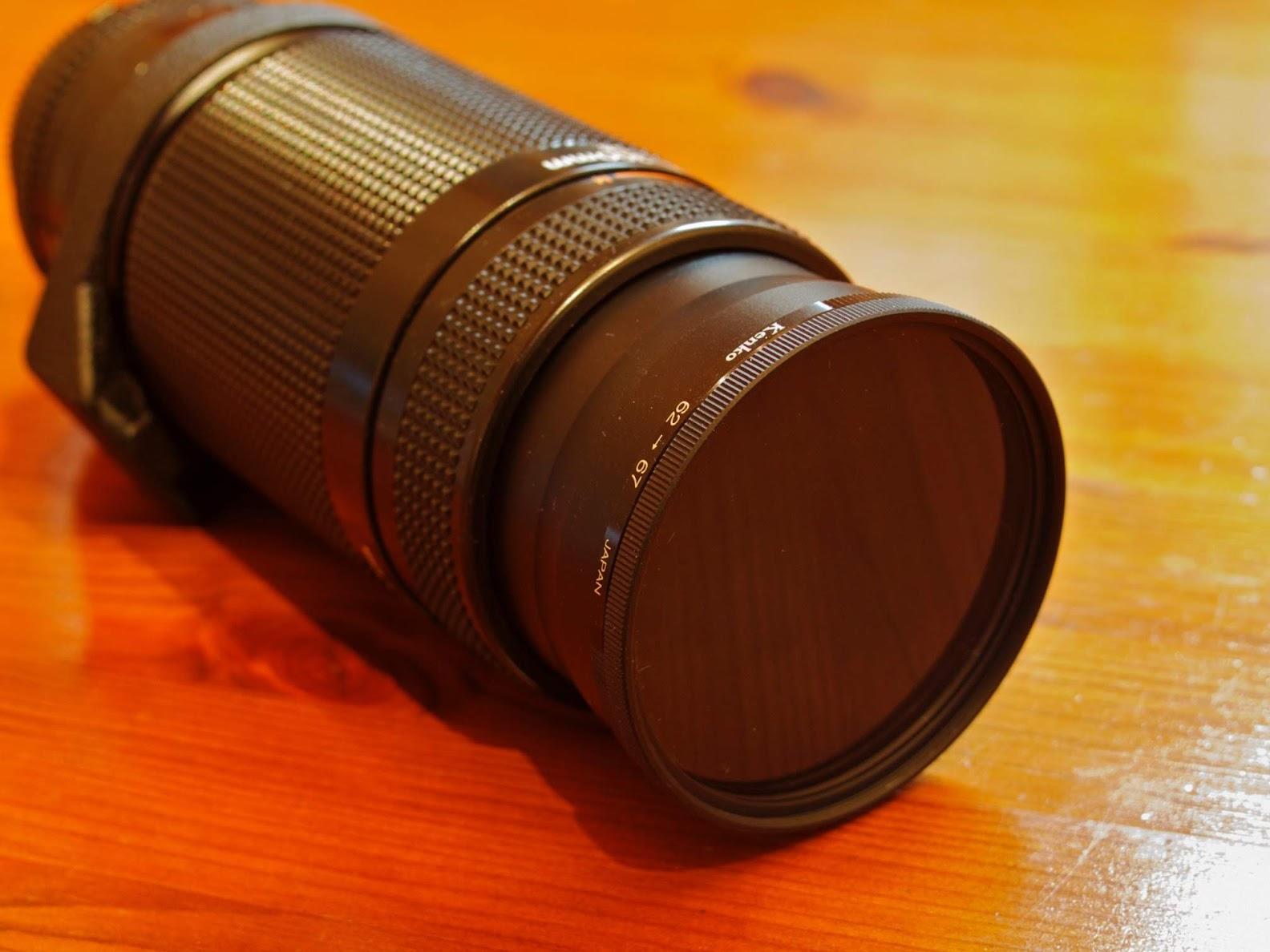 DIY Neutral Density Filter