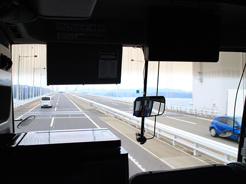 阪急バス「よさこい号」昼行便 2890 車窓 その8