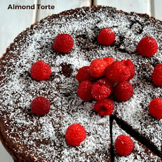 Flourless Chocolate Almond Torte   FoodieMamas.