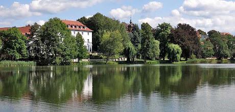 Photo: Am Burgsee in Bad Salzungen