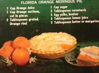 Florida Orange Meringue Pie Recipe