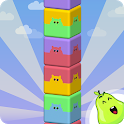 Towersplit: Stack & match colors to score! icon