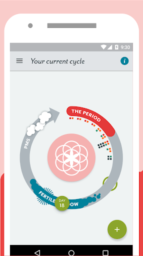 Period Tracker Clue: Period & Ovulation Tracker Screenshot