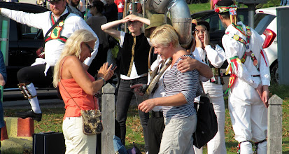 Photo: LAST DANCE.. AND DIFFICULTY IN  TRYING TO PERSUADE THE PUBLIC TO JOIN IN ......