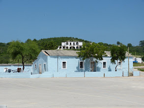 Photo: Governor house from the village.
