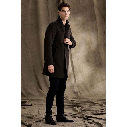 Oscar Jacobson Storvik coat brown