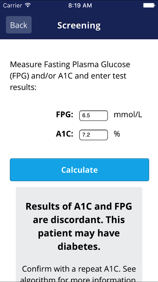 Diabetes Canada Guidelines- screenshot