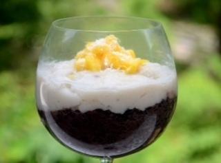 Luscious Coconut Black Rice Pudding Recipe