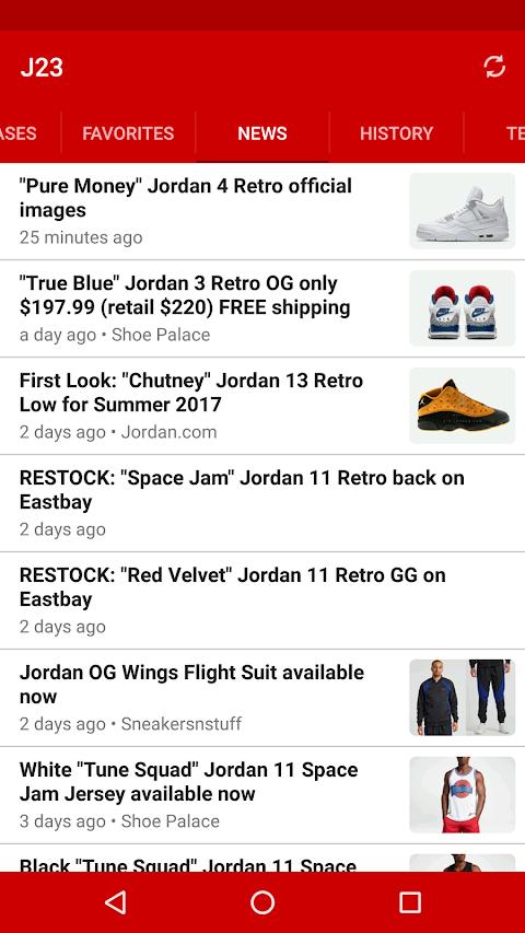 J23 - Jordan Release Dates & Restocksのおすすめ画像4