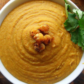 Curry, Ginger & Coconut Carrot Soup