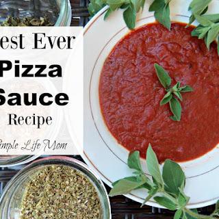 Best Ever Pizza Sauce.