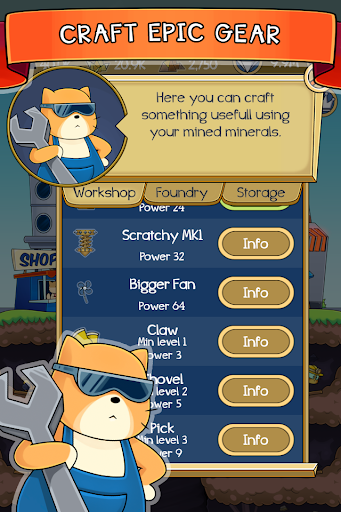 Dig it! - idle cat miner tycoon apktram screenshots 5