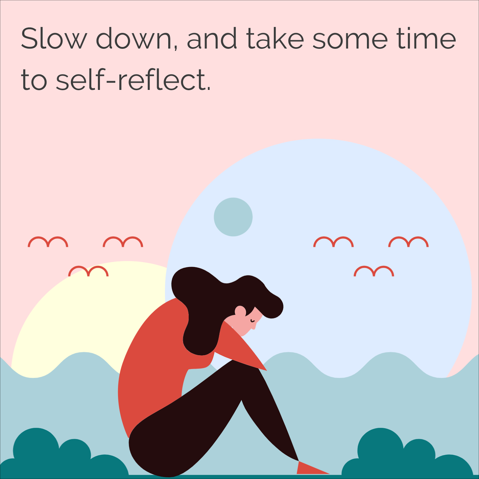 Slow down and take some time to self-reflect on your past, and get prepared for a new year.