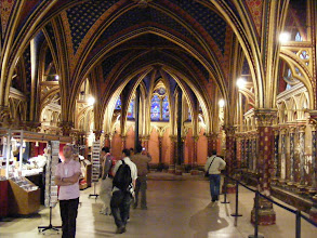 Photo: Now at Saint Chapelle, consecrated in 1248, here in the lower chapel parish church for use by all palace inhabitants.