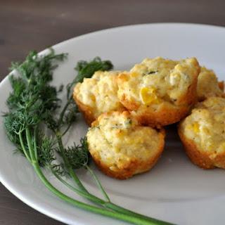 Corn Dill Mini Muffins Recipe