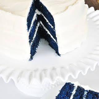 Blue Velvet Cake.