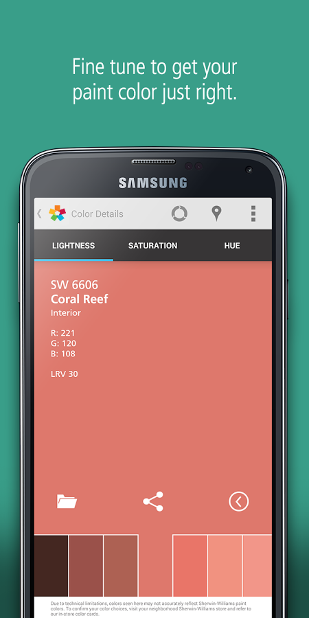 ColorSnap® Visualizer- screenshot