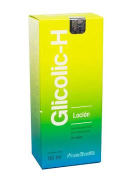 Glicolic H Loción Frasco   x60Ml. MED Ácido Glicólico AHA Hidroquinona