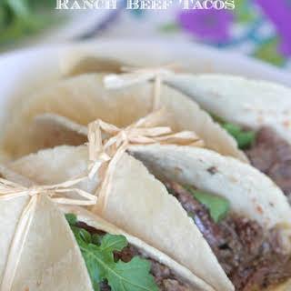 Slow Cooker Salsa Verde Beef | Tacos.