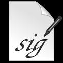 Signature Capture icon