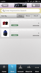 E.Commerce screenshot 5