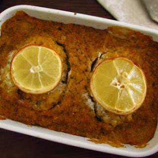 Ling Fish in the Oven with Portuguese Cornbread Recipe
