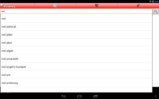 Free Dictionary Org screenshot 7
