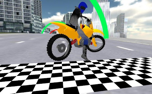Extreme Motorbike Racing 3D- screenshot thumbnail