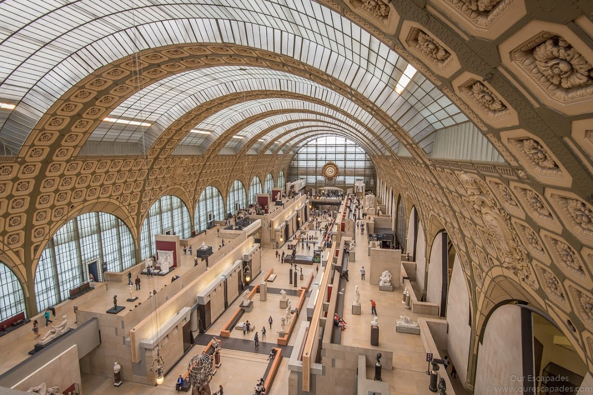 Inside Orsay Museum