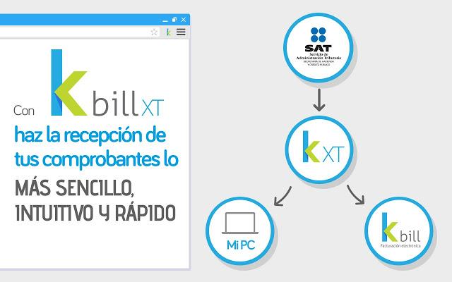 Descarga tus CFDI desde el SAT con K bill XT