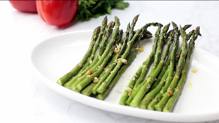 Lemon-Garlic Asparagus