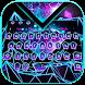 Neon Polysphere Keyboard Theme