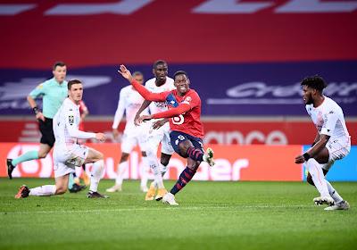 Lille écrase Lorient, Jonathan David débloque enfin son compteur !