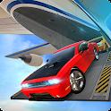 Airplane Flight Car Transport icon