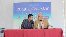 Alberto Cerezuela e Innocencio Arias, pregonero de esta edición.