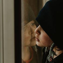 Child reflection by Anna Williams Hopper - Babies & Children Children Candids
