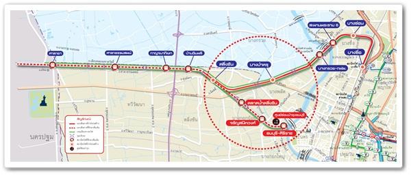 รถไฟฟ้าสายสีแดง มีสถานีปลายทางที่สถานีรถไฟศาลายาซึ่ง่ห่างจากประตูมหาวิทยาลัยด้านหลังตรง MUID 120 เมตร