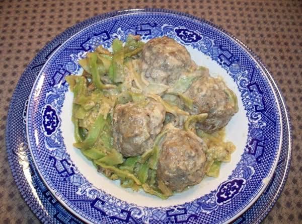 Homemade Horseradish Meatballs - Yummy! Recipe