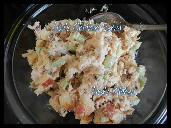 Lisa's Chicken Salad Recipe