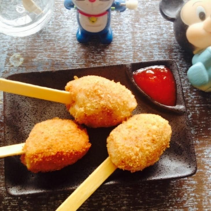 Potato Lollipops