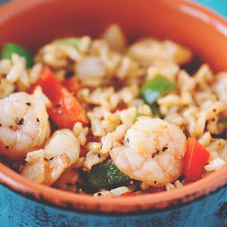 Shrimp Fajita Fried Rice Recipe