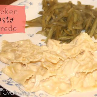 Chicken Pasta Alfredo